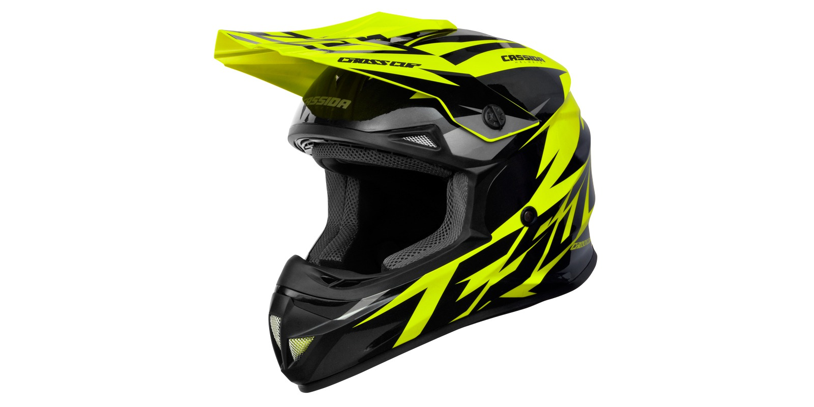 Cassida CROSS CUP 2 black/yellow fluo