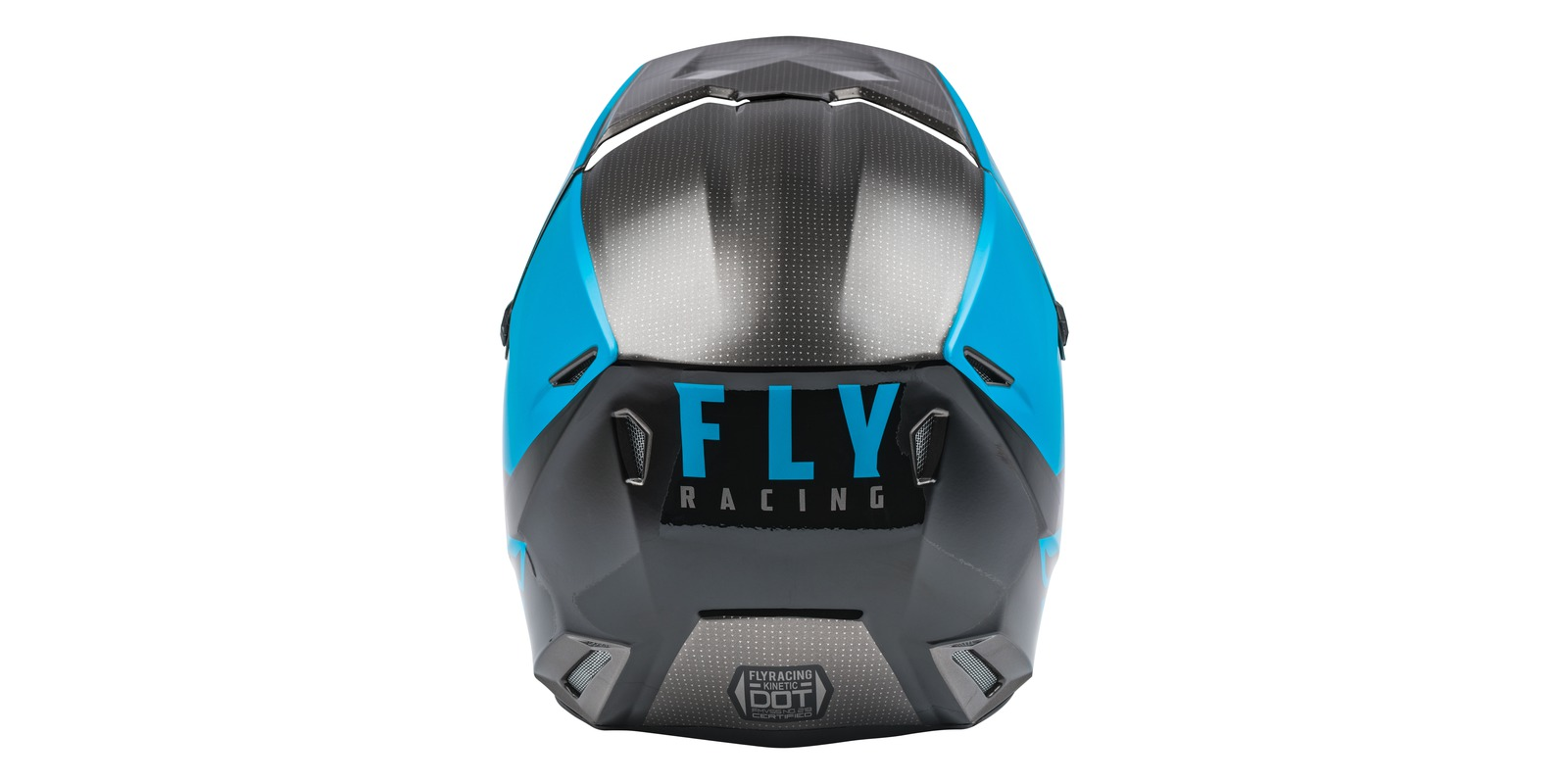 Fly KINETIC STRAIGHT black/blue/grey